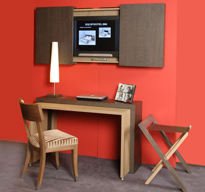 bureau r tractable. Black Bedroom Furniture Sets. Home Design Ideas