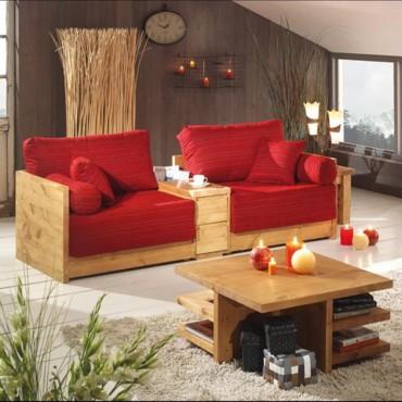 Salon bois design - Salon de sejour en bois ...